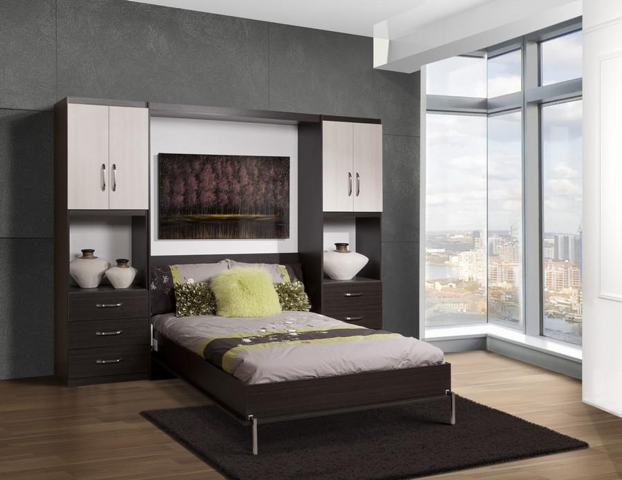 Спальное место со шкафом