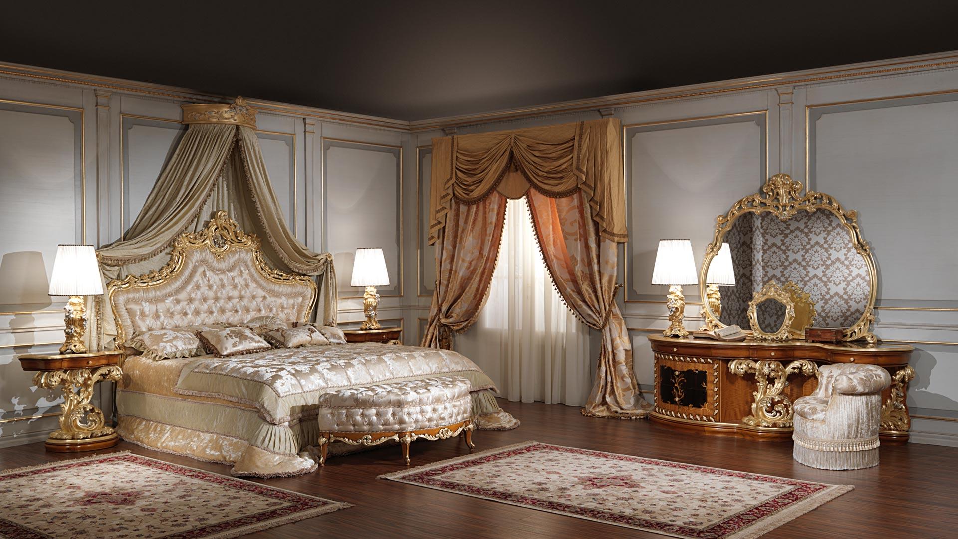 Спальня с приятным декором