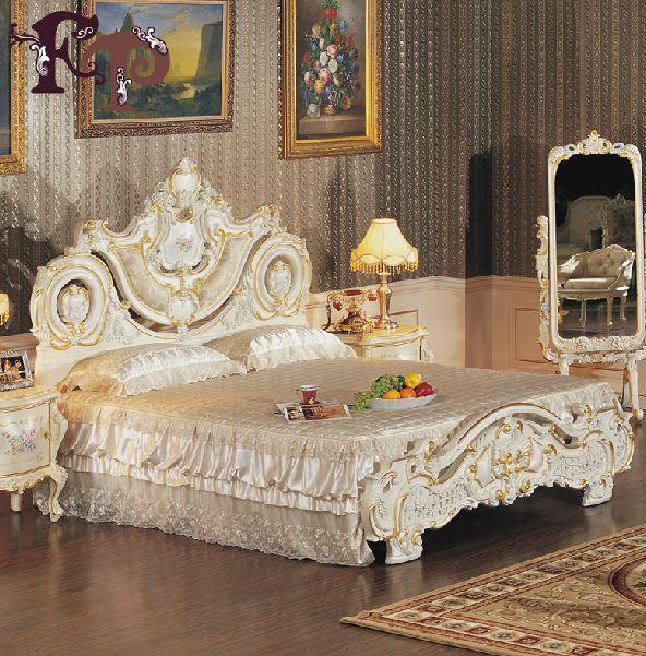 Стиль барокко для интерьера спальни
