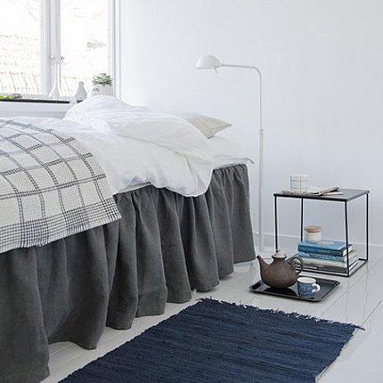 Стильные подзоры для кровати в спальню
