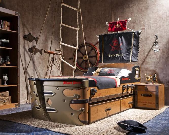 Тематический интерьер для комнаты ребенка