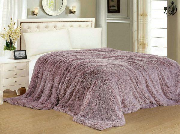 Теплое покрывало для кровати