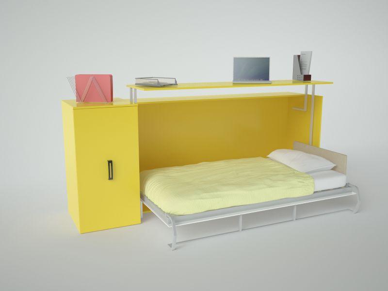 Трансформирующасяся мебель для спальни
