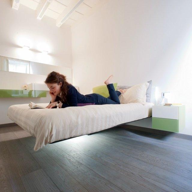 Удивительные парящие кровати