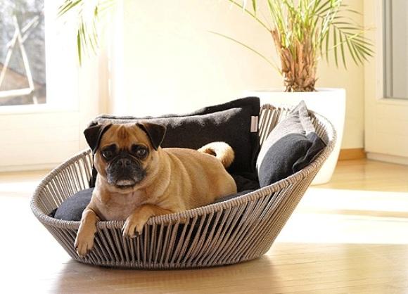 Удобная кровать для собаки
