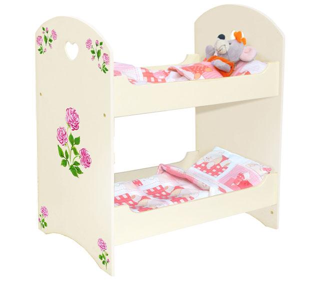 Удобная кроватка для куклы