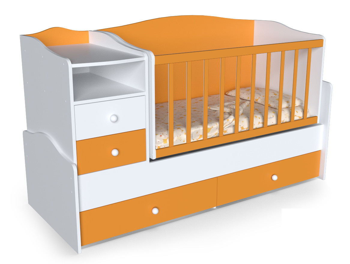 Удобные детские кровати-трансформеры