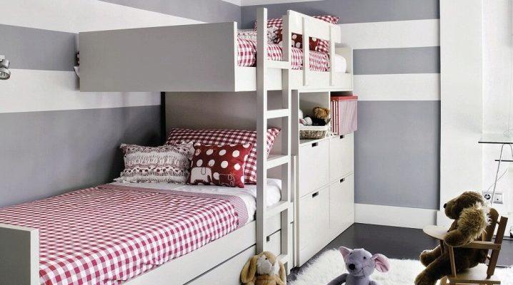 Угловая кровать для детей разного возраста