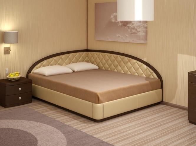 Угловая кровать и ее особенности