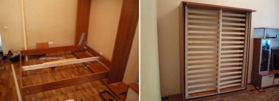 Усиливаем конструкцию шкафа