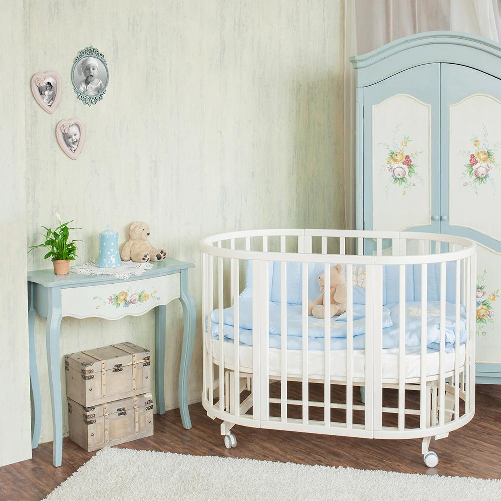 Ванильный оттенок мебели для ребенка