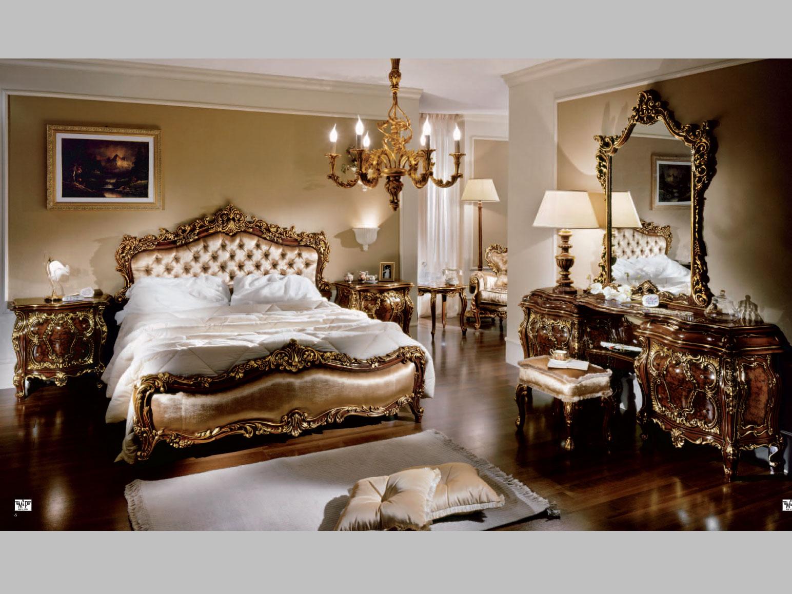 Вариант оформления интерьера спальни