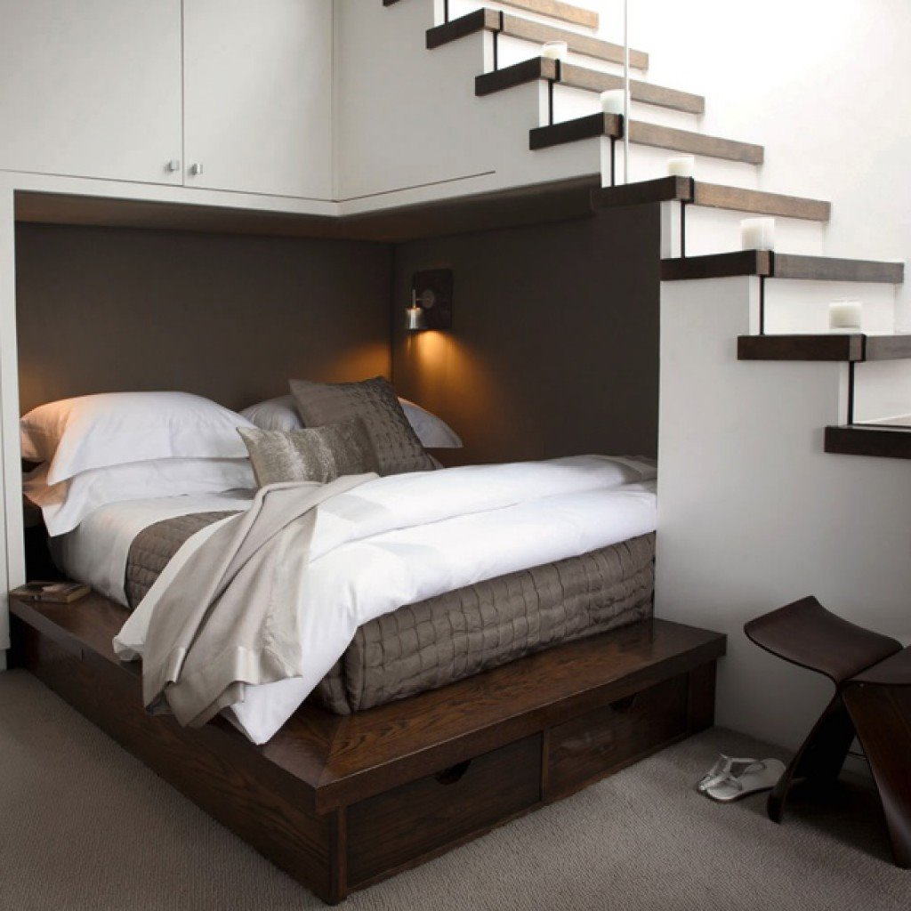 Встроенная модель кровати