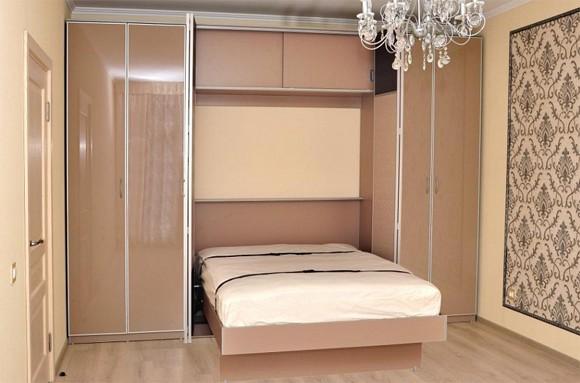 Встроенное практичное спальное ложе
