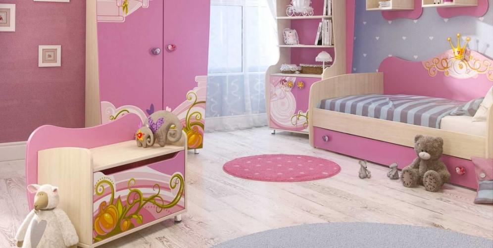Выбираем детские кровати для девочек