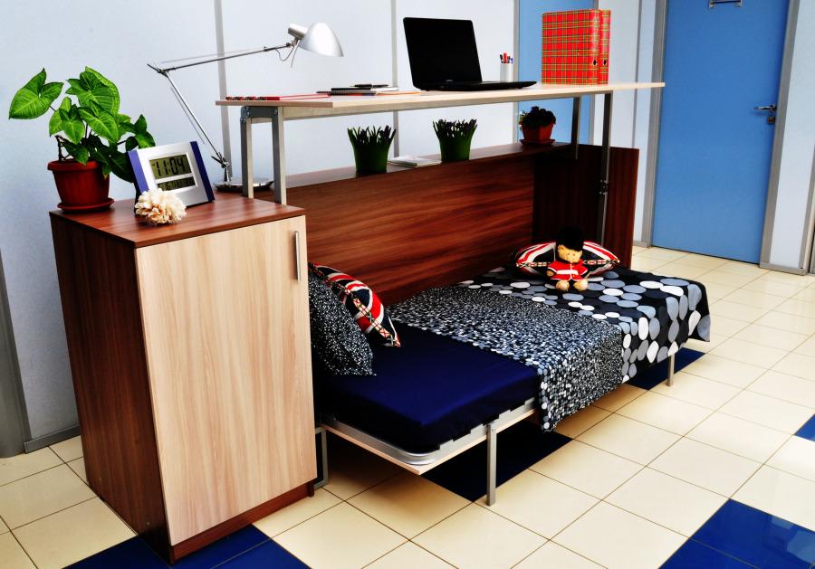 Выбираем стол-кровать трансформер