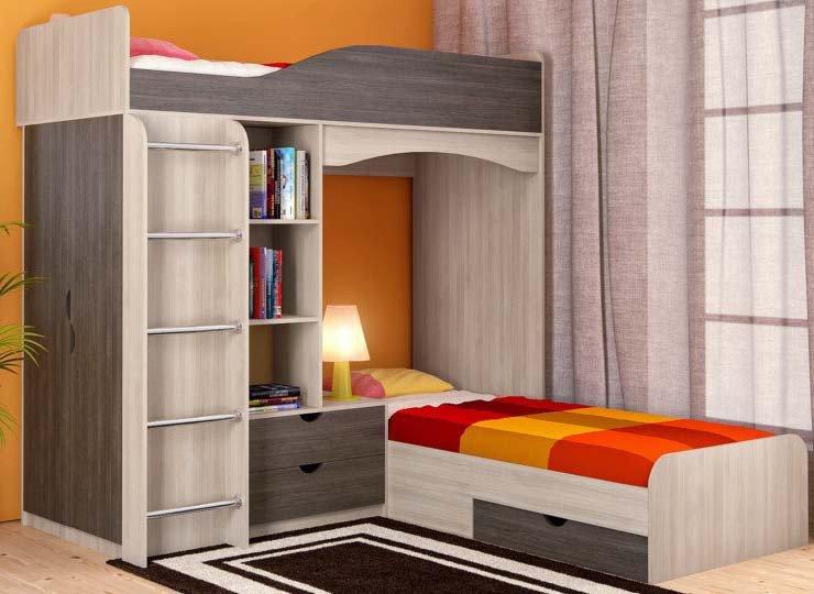 Выбор мебели для сна девочки