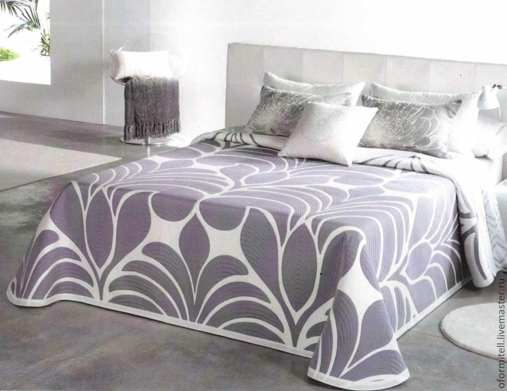 Vybor-tsveta-tekstilya-dlya-oformleniya-spalni Как выбрать покрывало на кровать в спальню: фото новинки
