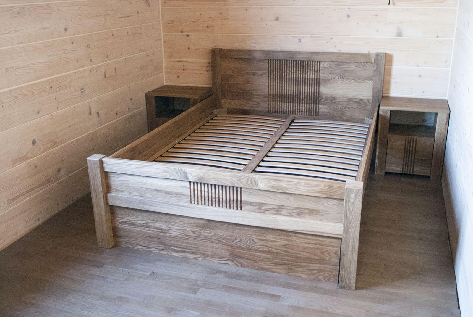 Высокий каркас современной кровати