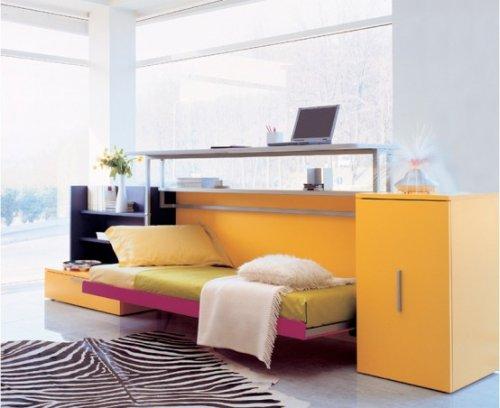 Яркие оттенки мебели для дома