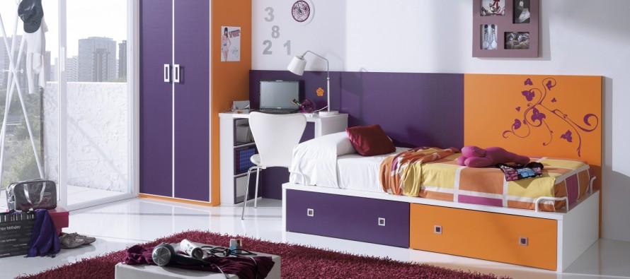 Яркие оттенки мебели