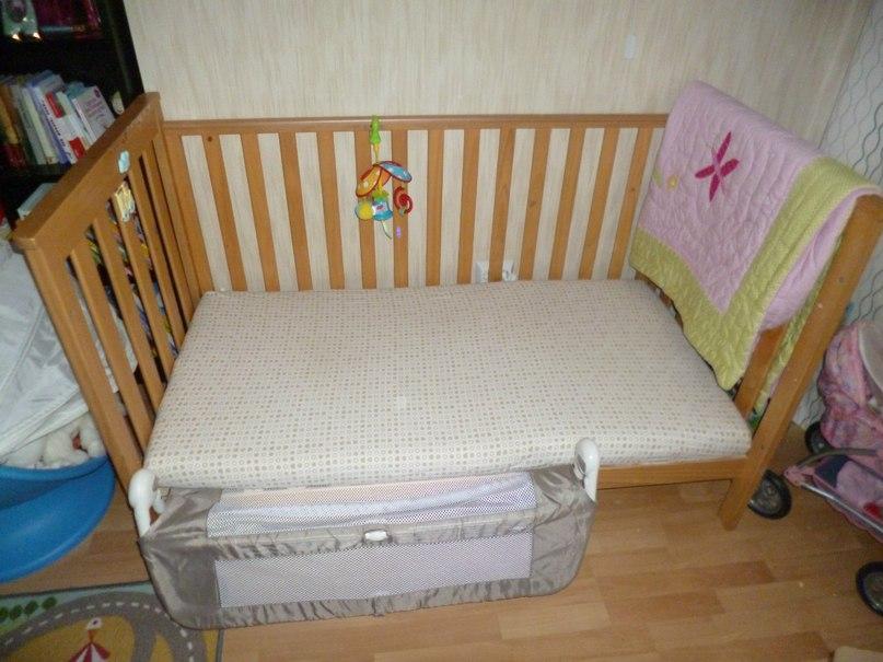 Защитный бортик для современной детской кровати