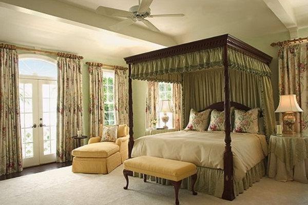 Английский стиль интерьера комнаты