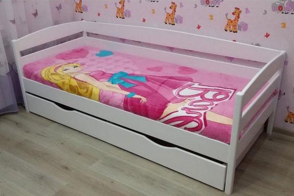 Белые детские кровати для девочек
