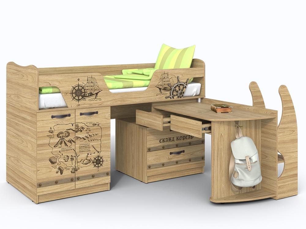Чердак-мебель для маленького ребенка
