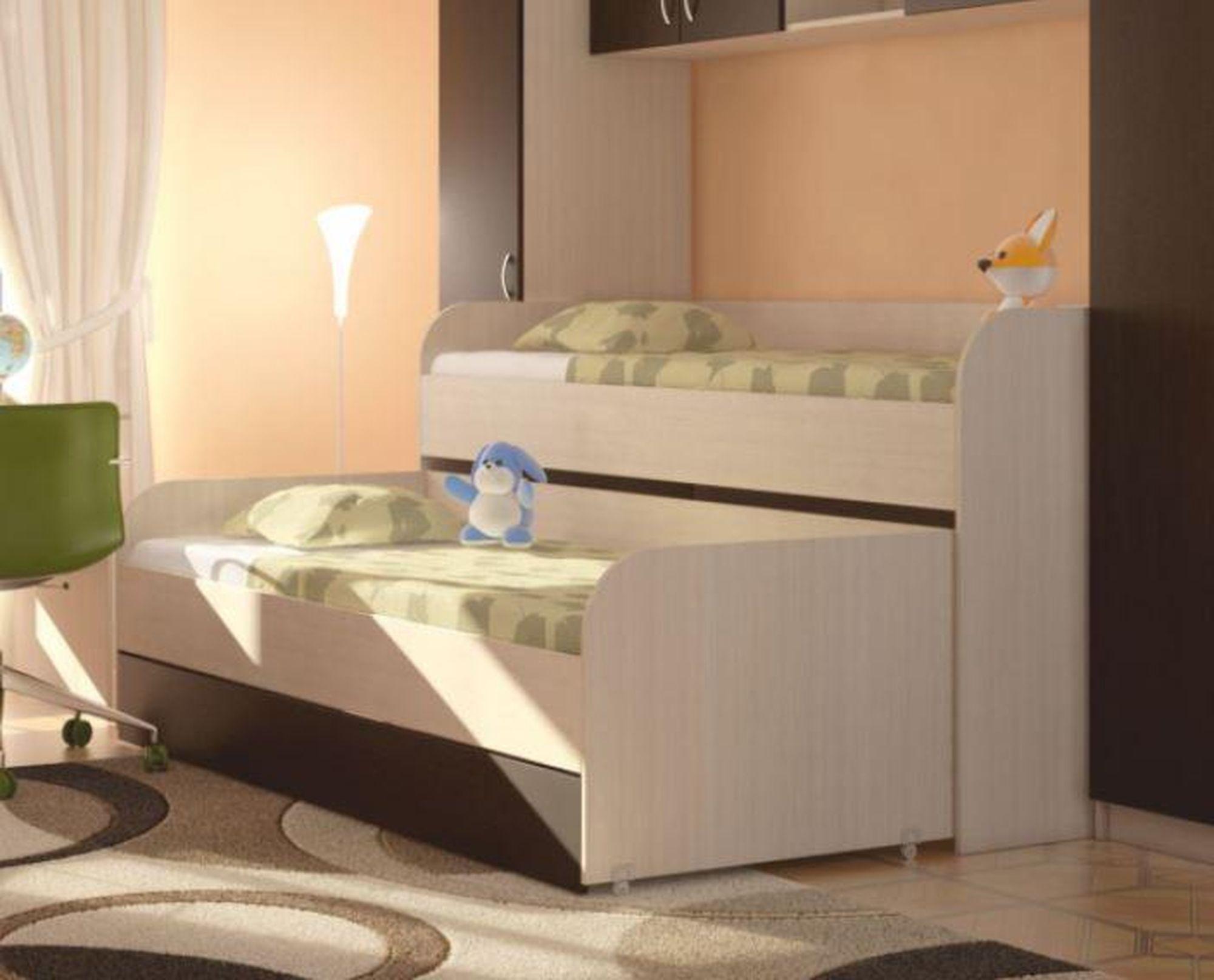 Детская 2-х уровневая кровать