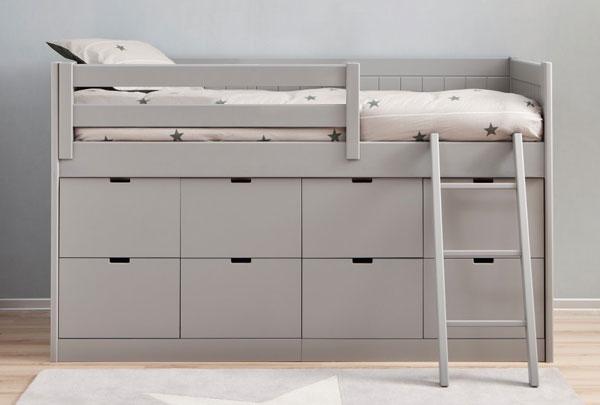 Детская кроватка комод с ящиками