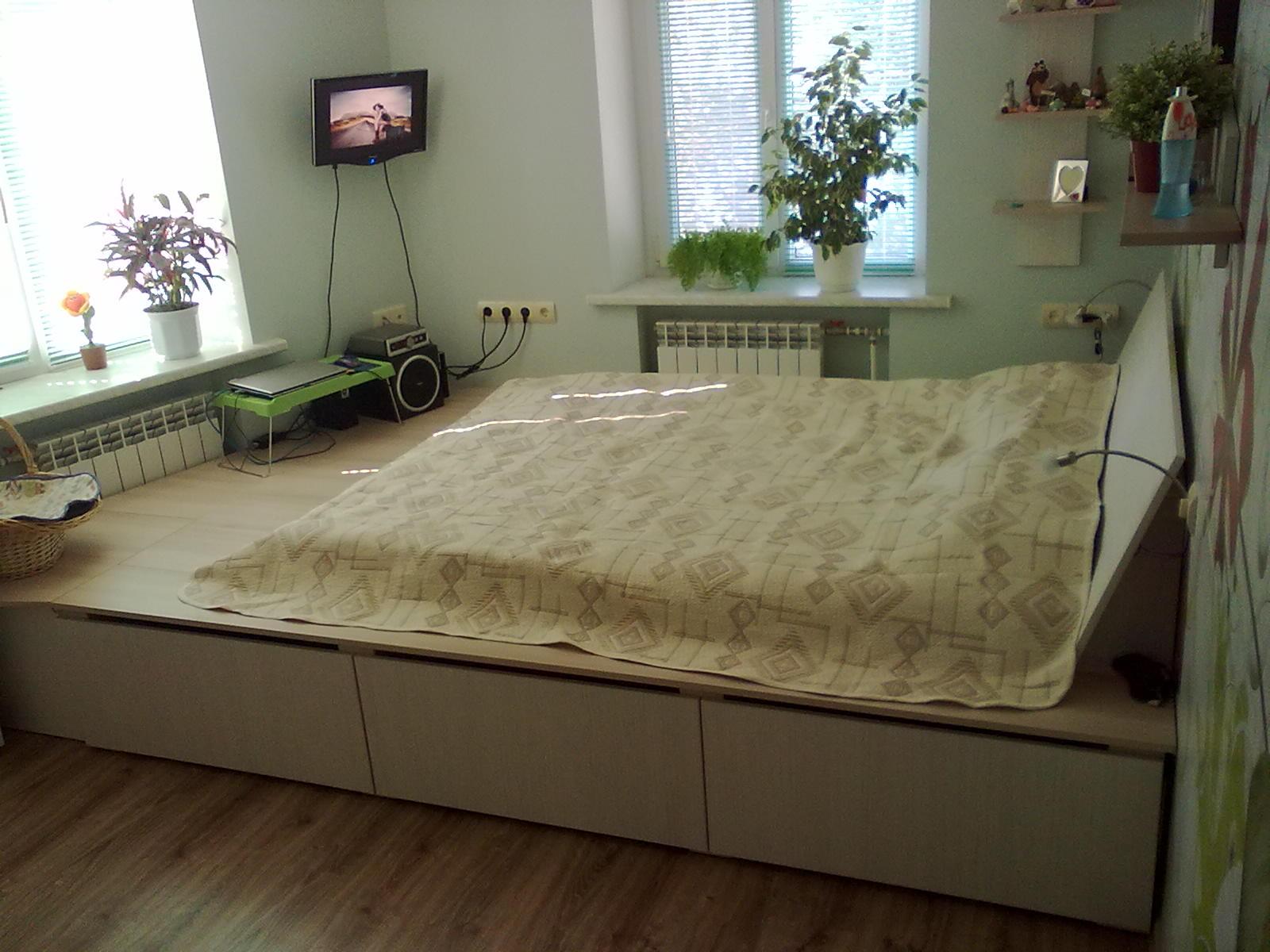 Функции подиумов в квартире
