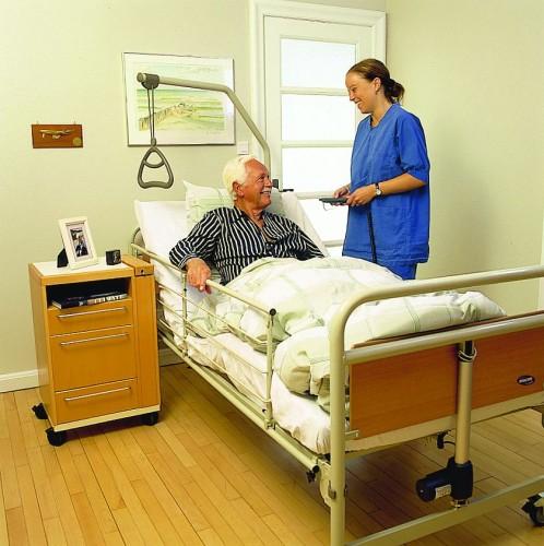 Функциональная медицинская кровать для лежачих больных