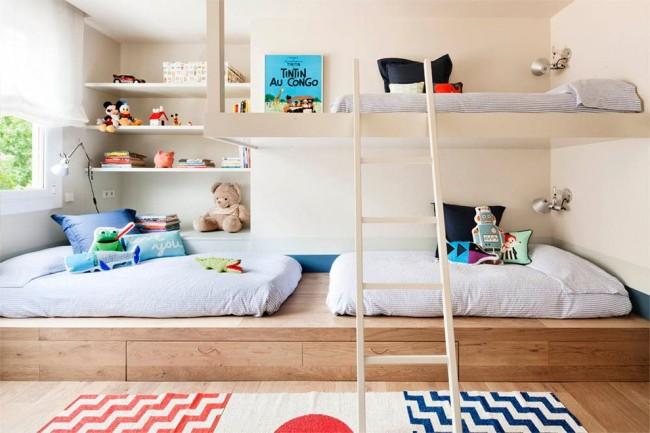 Функциональное оформление комнаты ребенка