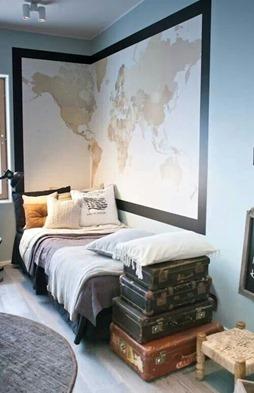 Где поставить односпальную современную кровать