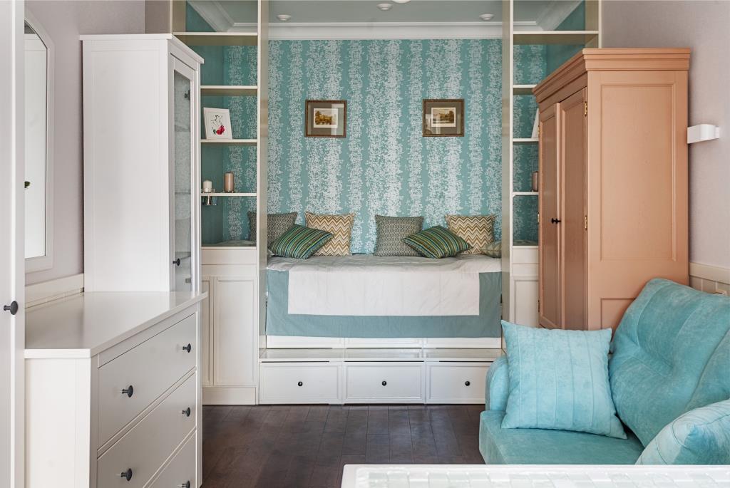 Идея дизайна детской комнаты