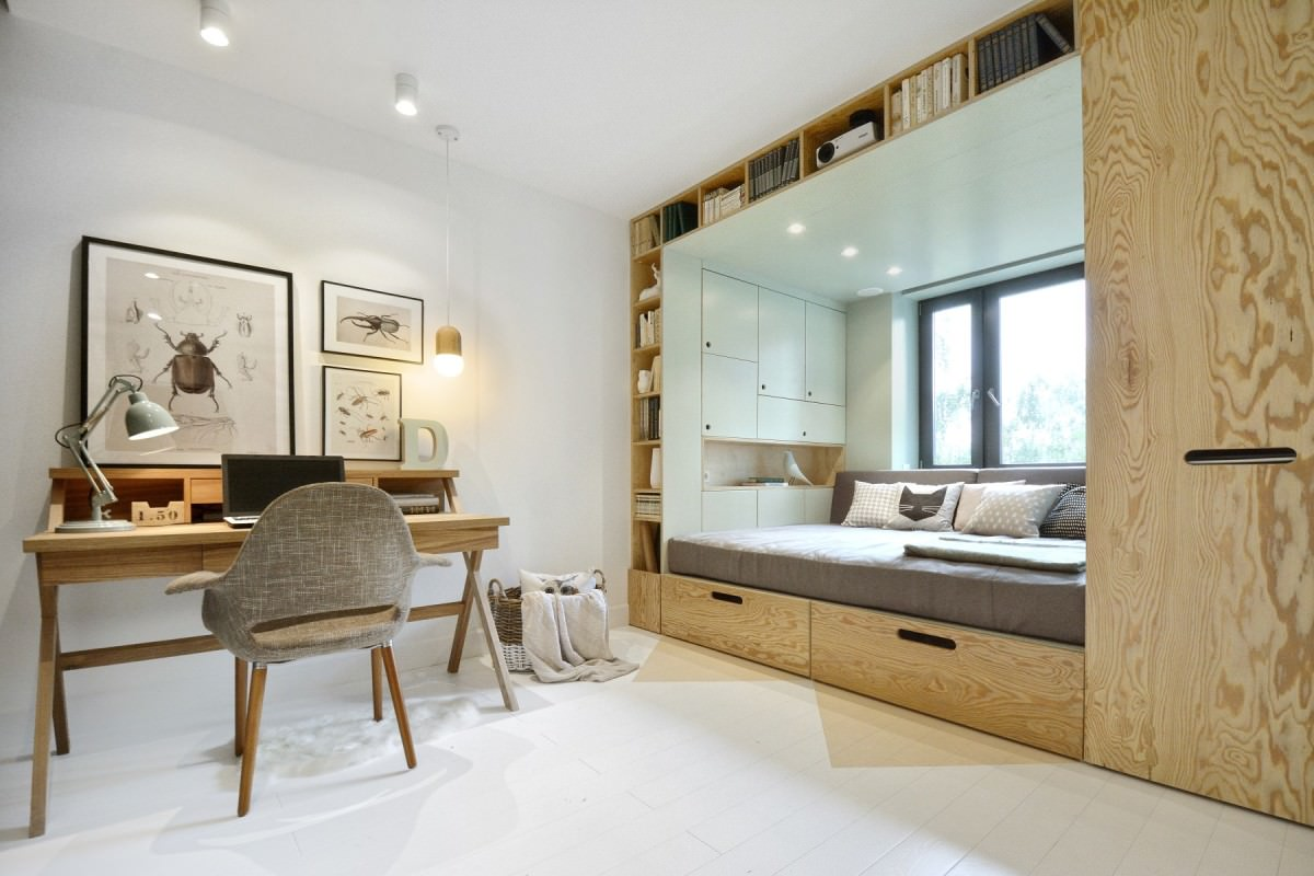 Как красиво сделать комнату с помощью современной мебели
