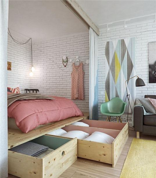 Как сделать маленькую комнату удобной