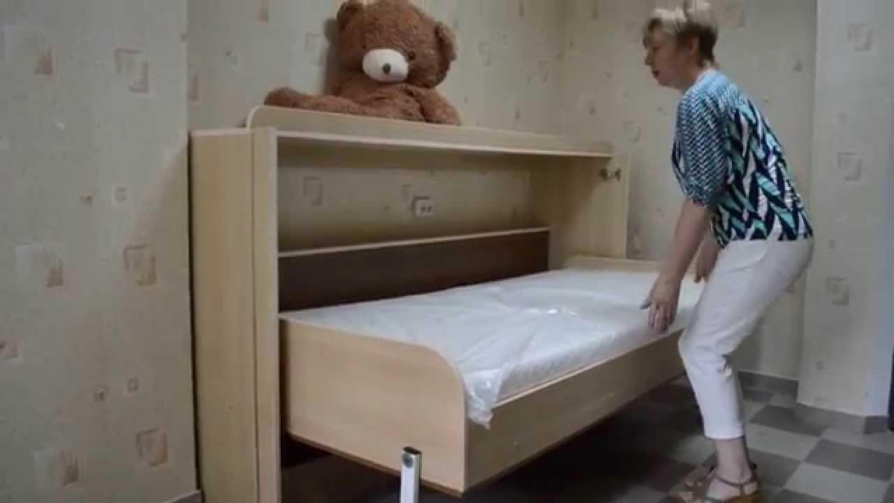Комод-кровать откидного типа