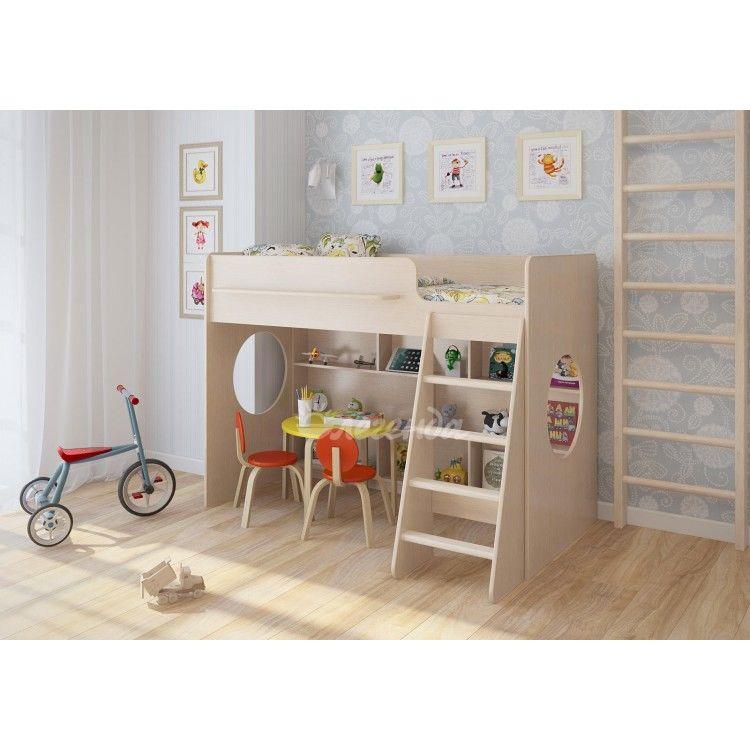 Кровать-чердак для сна и отдыха ребенка