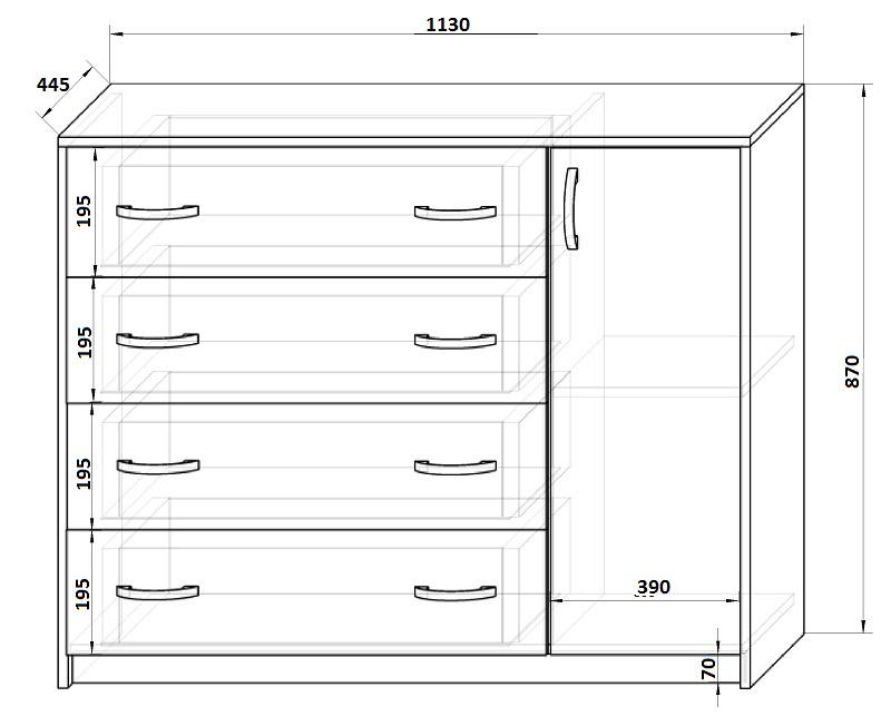 Кровать чердак с размерами