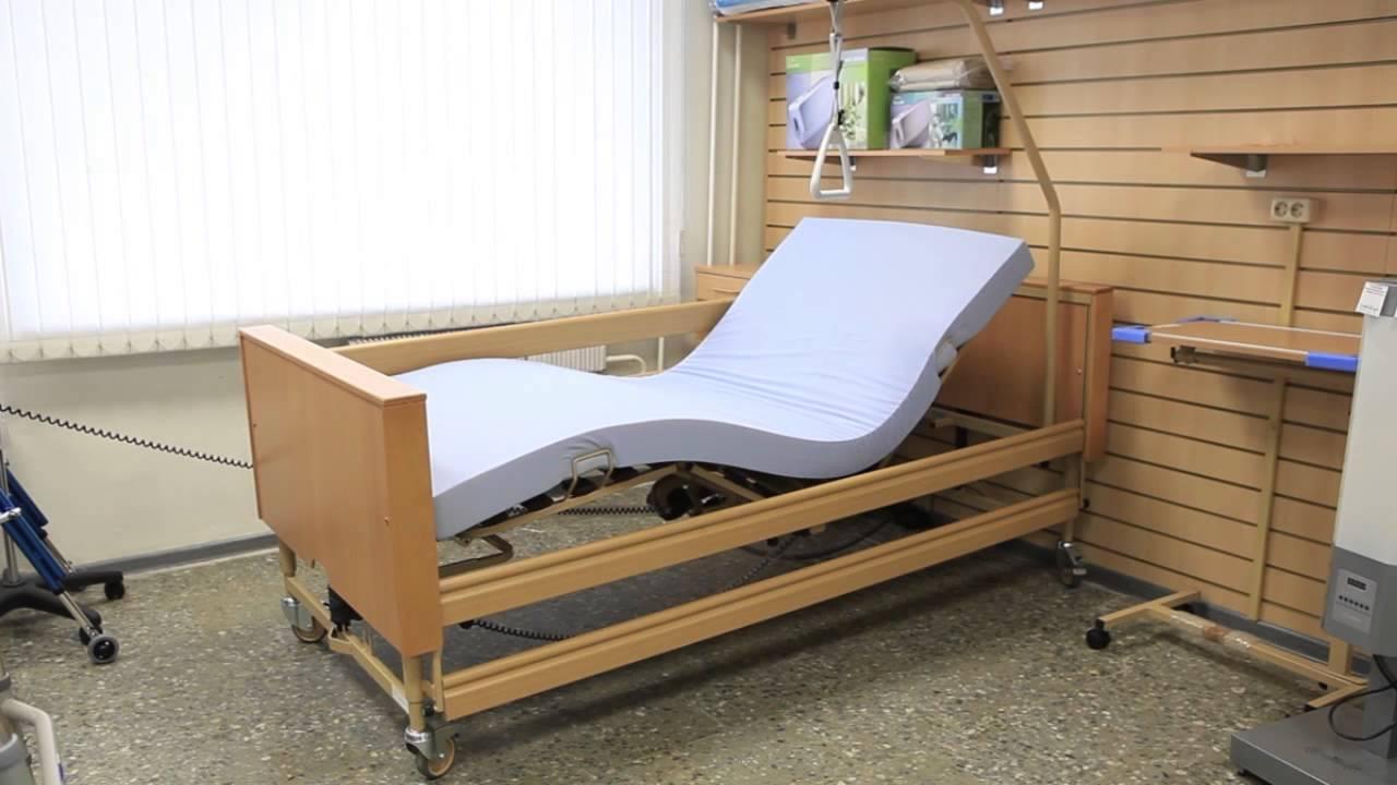 Кровать для лежачих больных, что собой представляют и дополнительные  элементы
