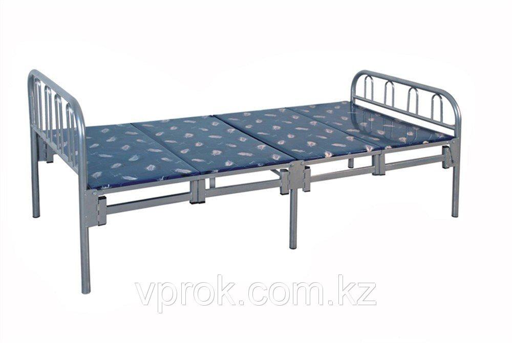 Кровать металлическая складная