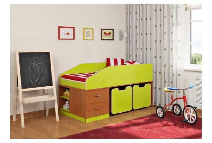 Мебель для сна с практичными полками