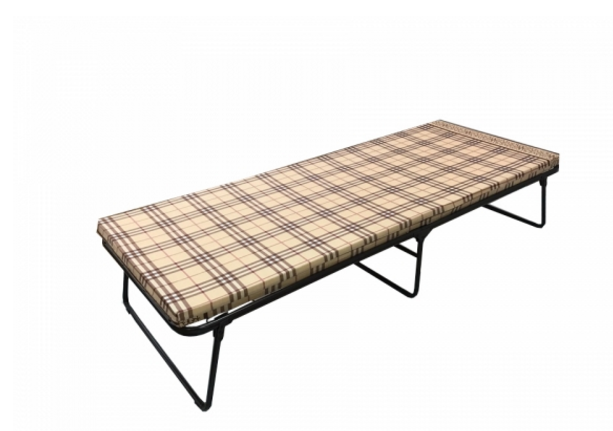 Металлическая раскладная кровать-тумба