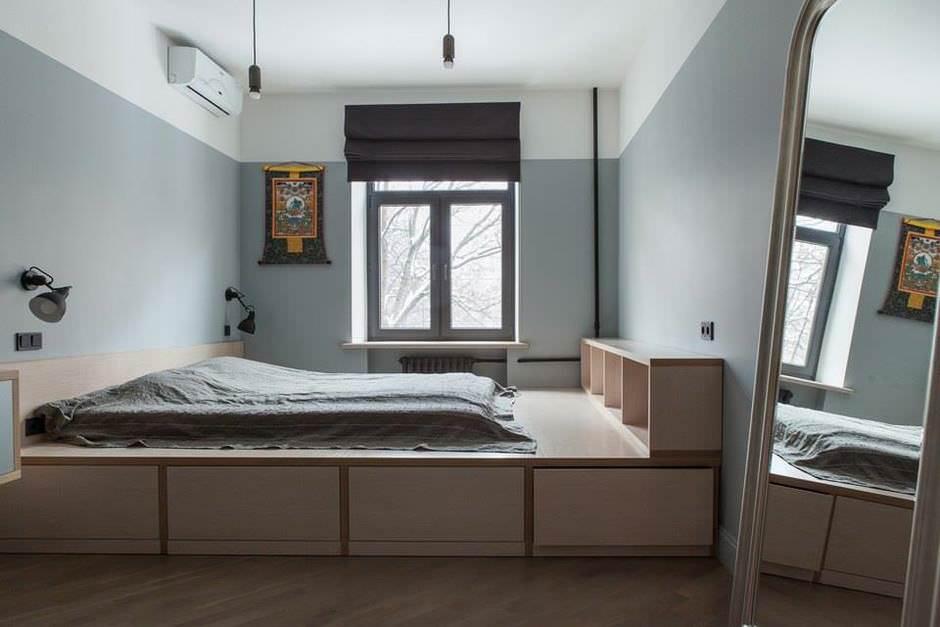 Обустройство спальной комнаты взрослого
