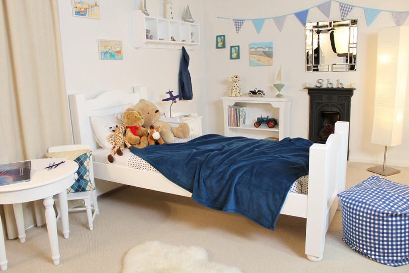 Обустройство стильной детской комнаты