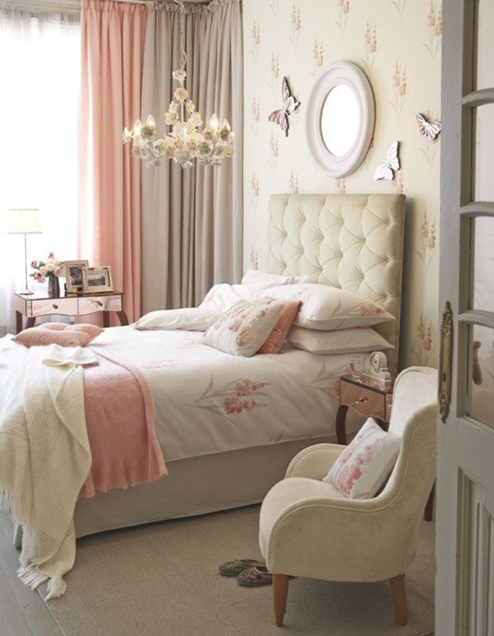 Приятные оттенки комнаты для взрослых