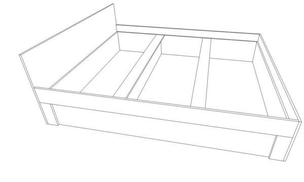 Проектирование мебели для сна с нишами