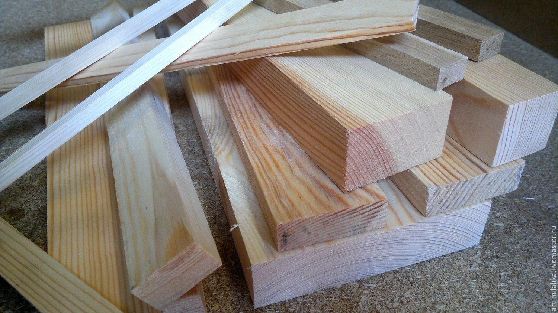 Рейки, бруски для создания мебели для сна